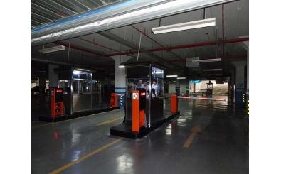 西安高铁北站应用停车场系统