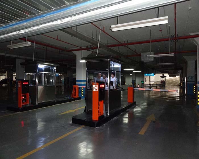西安智能停车场系统_西安高铁北站应用停车场系统 - 九鼎智能