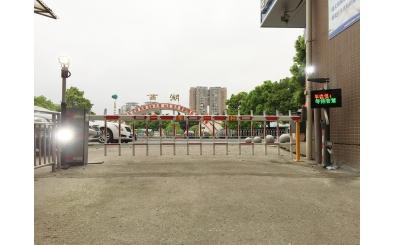 衡阳西湖水岸xiao区应用车牌shi别系统