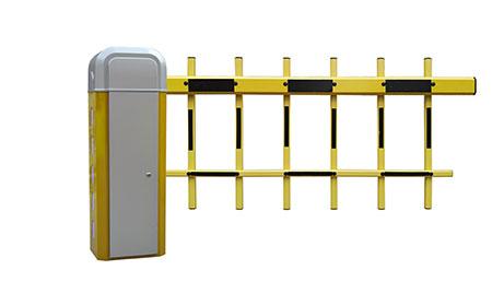 栅栏式dang车器